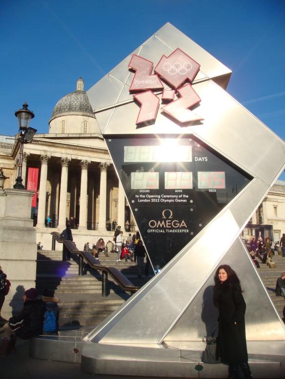 Marcando os dias para as Olimpíadas de Londres