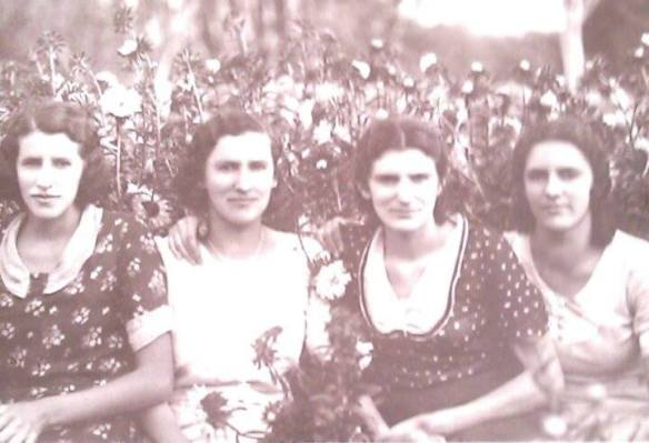 As irmãs Assumpta, Silvia, Leonor e Nair