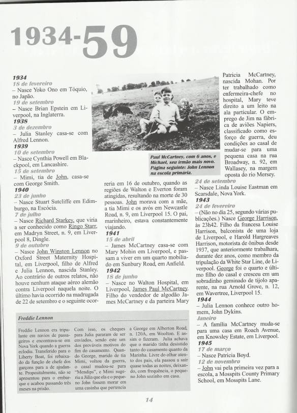 """""""O Diário dos Beatles"""" de Barry Milles, Editora Madras."""