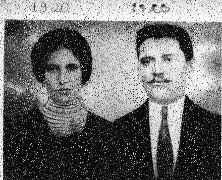 Anna Florian e Felice Zanet