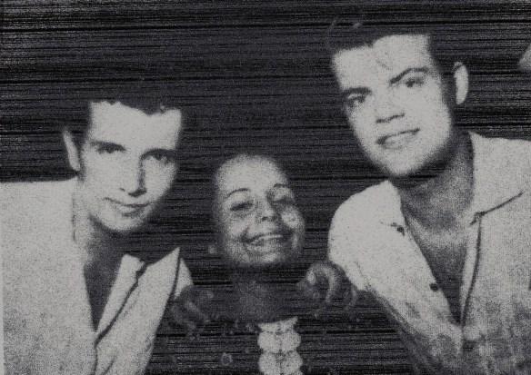 Cleide Alves George Freedman e o amigo Roberto Carlos - Cópia