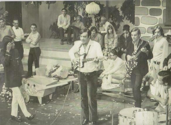 Tremendões no programa Ronnie Von TV Record anos 60