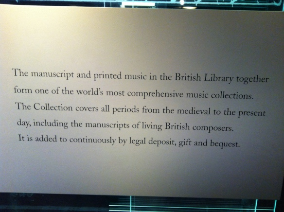 20121129 10 BL - Sir John Ritblat Gallery - Music section