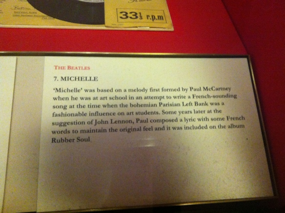 Sir John Ritblat Gallery - The Beatles Michelle