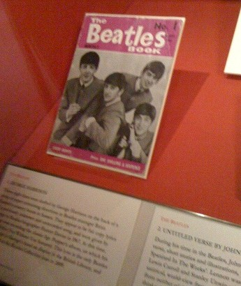 "Original No. 1 copy of ""The Beatles Book"", a very rare publication that was published monthly from 1963 until 1969, chronicling many of the Beatles events of the 60s."
