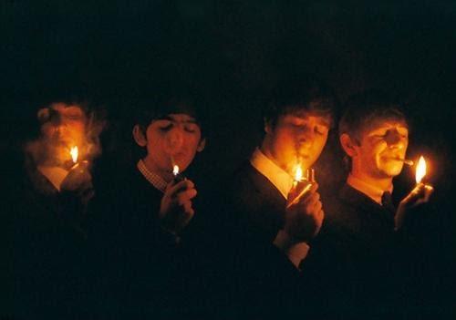 The Beatles, Paris, by Jean-Marie Périer, 1964)