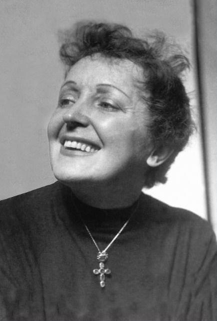 Edith Piaf fotografada no Hotel Jaraguá