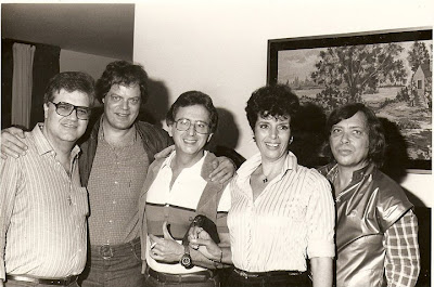 Da esquerda para a direita, Antonio Claudio Danny Dallas George Freedman Miguel Vaccaro Netto Regiane e Marcos Roberto