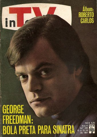 Ídolo da Jovem Guarda, George foi capa da Revista InTerValo