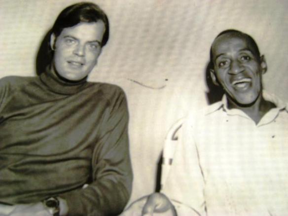George Freedman com o sambista Nerino Silva 1968