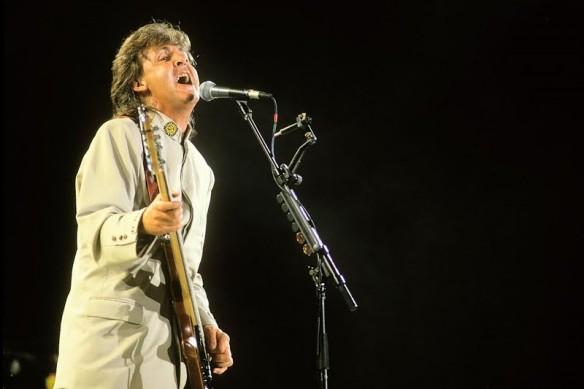 Paul no Maracanã em 1990 - 1