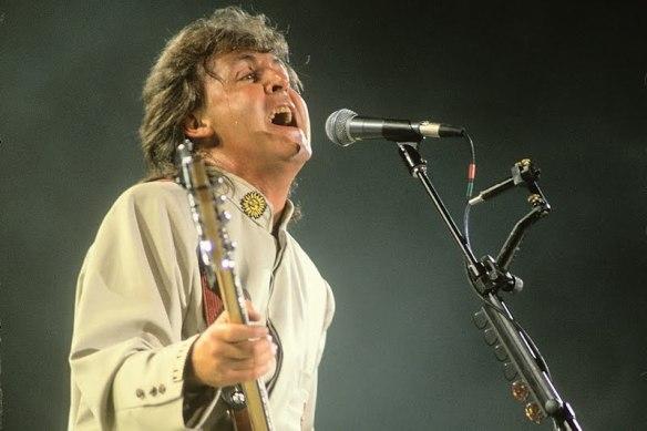 Paul no Maracanã em 1990 - 8