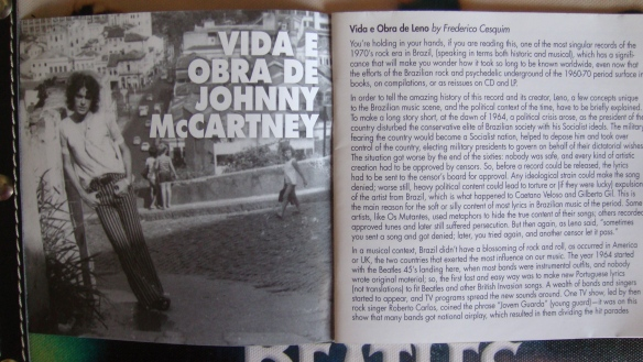 Vida e Obra de Johnny McCartney - Leno 001
