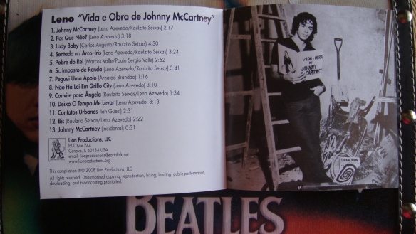 Vida e Obra de Johnny McCartney - Leno 018