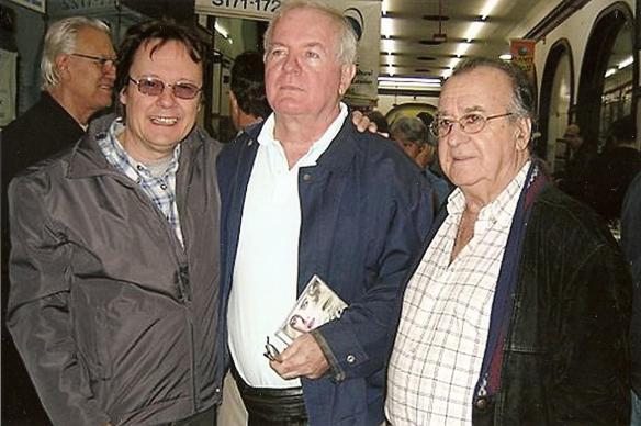 Nenê, Albert Pavão e Antonio Aguillar