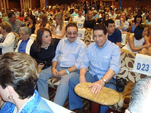 Carlos Alberto e esposa e Lauro Roberto