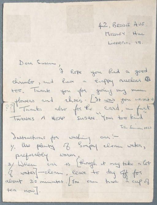 Carta a Susan 1