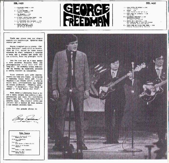 george freedman e nenê - contracapa LP