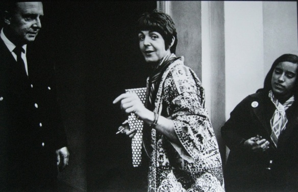 Lizzie em foto de Paul McCartney
