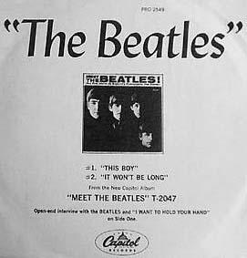Meet the Beatles album (1)