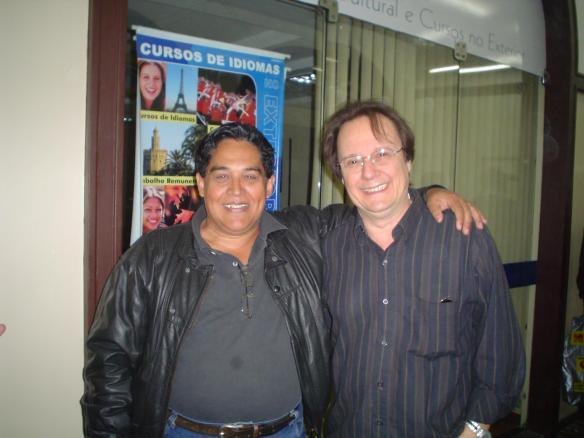 Nenê e Eduardo Reis