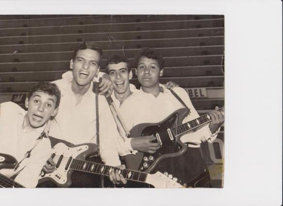 Os Gianninis - Fominha, Raul, Newton, José Carlos.