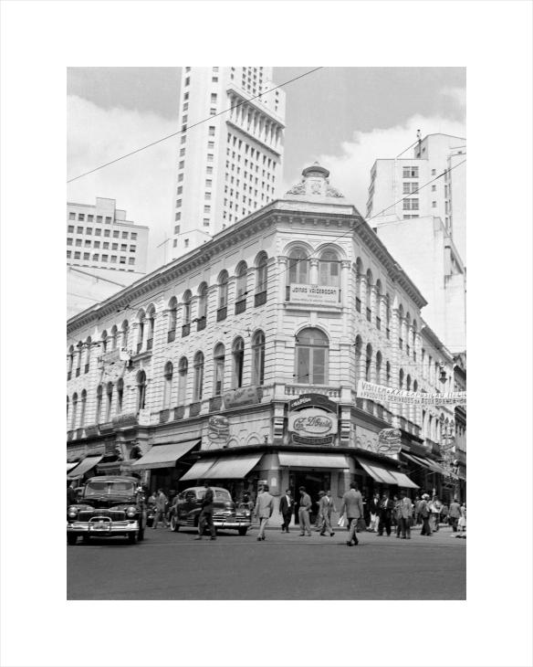 Predio do antigo Hotel Paulista