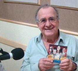 Antonio Aguillar e o recente CD dos Clevers em sua nova formação.
