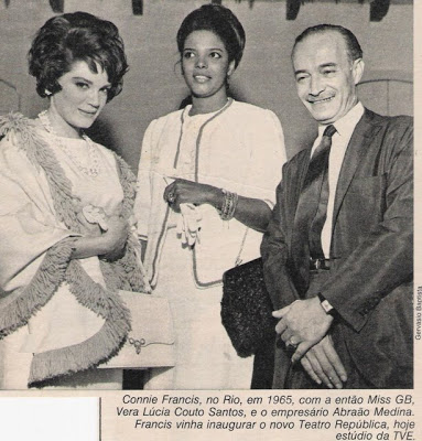 Connie Francis e a Miss Guanabara - 1965