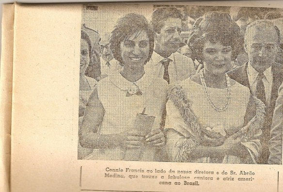 Connie Francis e Jeanette Adib
