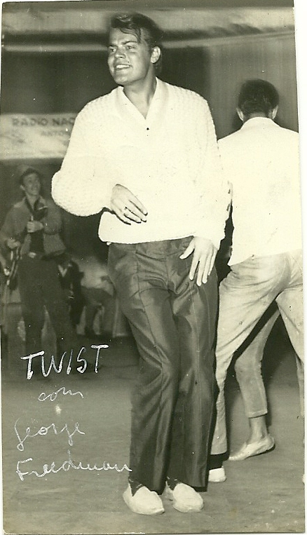 George dança Twist no Ritmos p_Juventude