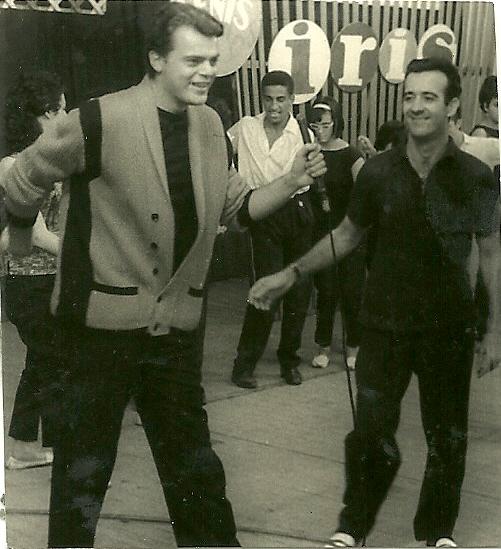 George Freedman e Aguillar dançam Twist Ritmos p a Juvetude TV Paulista