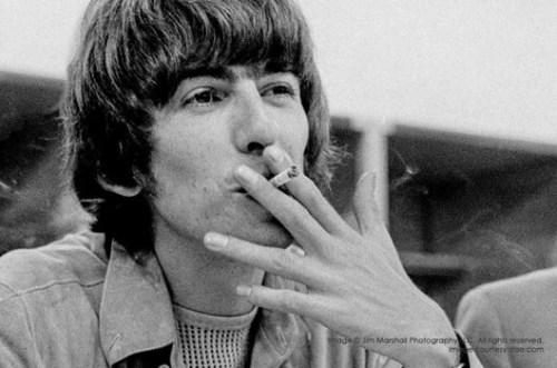 George Harrison - Candlestick Park - foto Jim Marshal