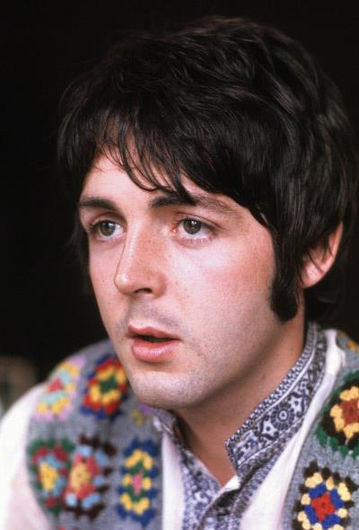 Paul McCartney during an interview with Time Magazine, 1967. (Henry Grossman)