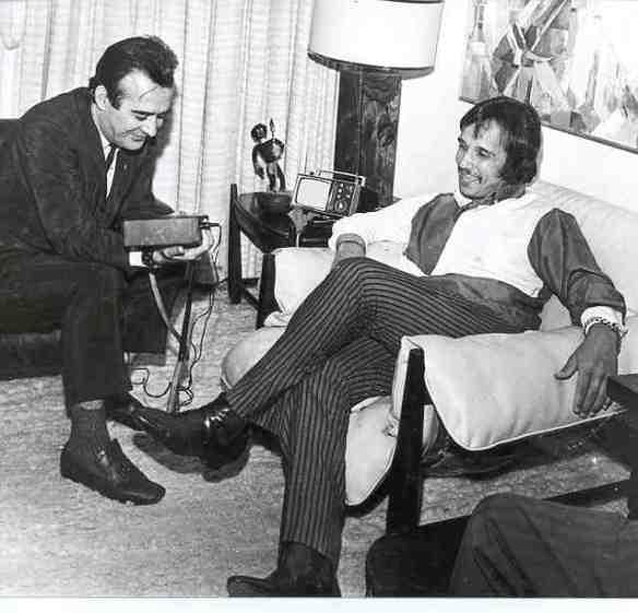 Roberto Carlos e Aguillar 1968