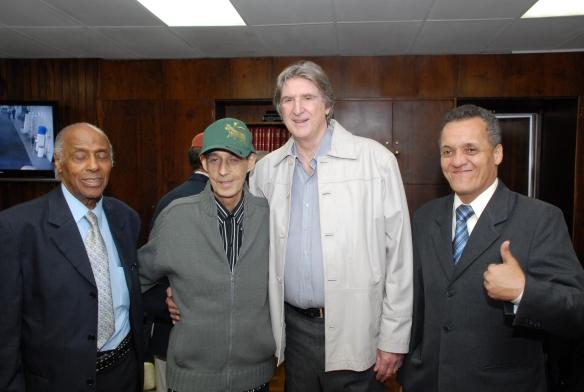 Carlos Gonzaga, Sergio Reis, Luiz Fabiano e o vereador Pinheirinho