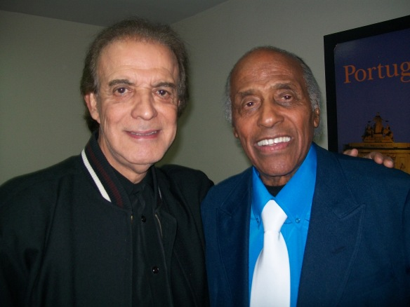 Carlos Gonzaga e o  cantor Nilton César