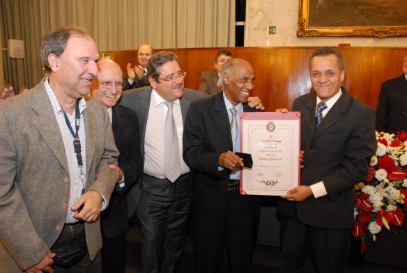 Osmar Santos, Paulo Frange(vereador), Carlos gonzaga e Pinheirinho