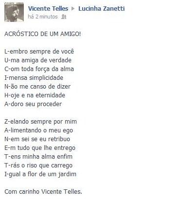 Poesia de Vicente Telles