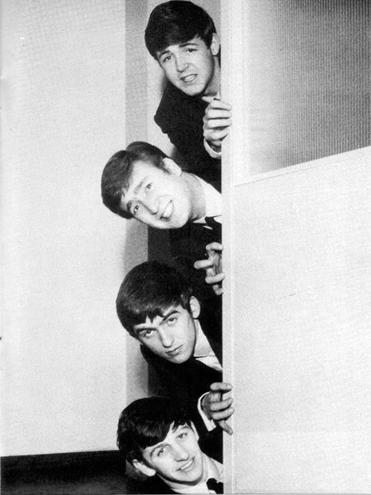 Beatles na porta