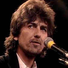 George Harrison - thebeatlesareinductedintohallofame