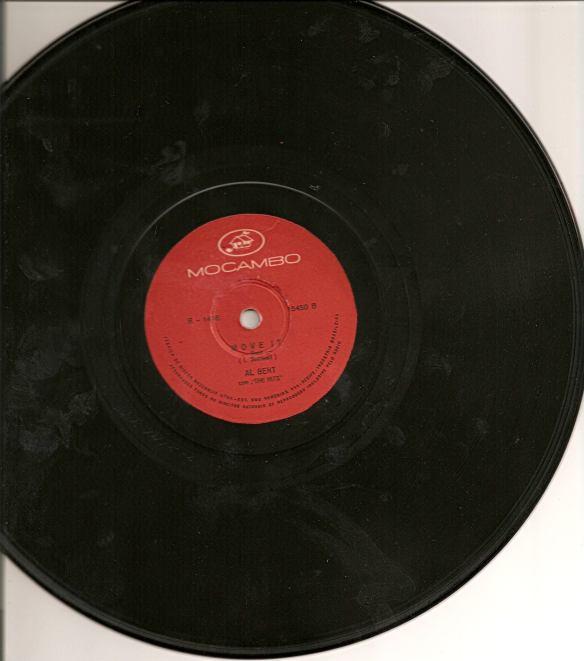 Move it - primeira gravação de Albert Pavão