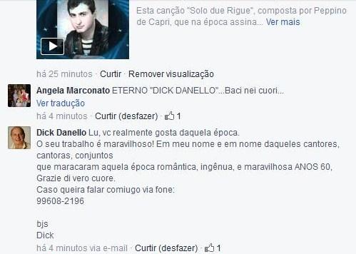 """O próprio cantor agradecendo... NÃO TEM PREÇO"""" ;)"""