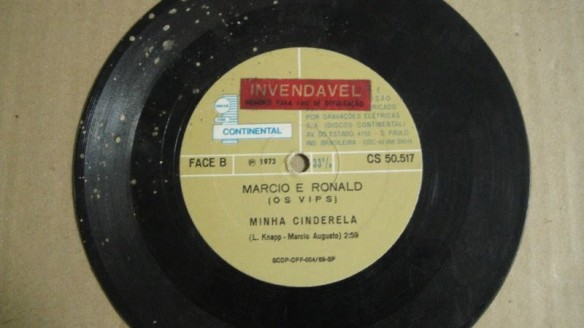 Os Vips - Minha Cinderela - Não Vá Embora - 1973