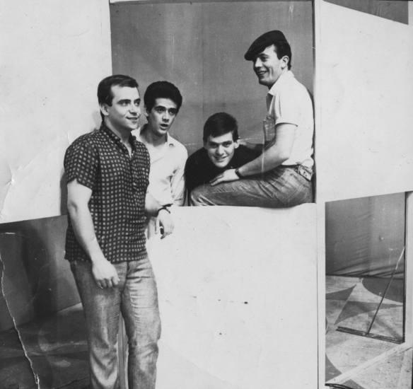 Teatro Record, Consolação, no principio da Jovem Guarda(1965)