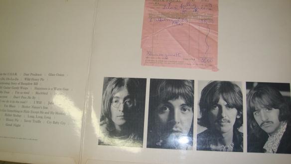 Foto da Nota Fiscal de compra do meu LP, em 07-07-1969, ao preço de NCr$38,00 (38 cruzeiros novos)...