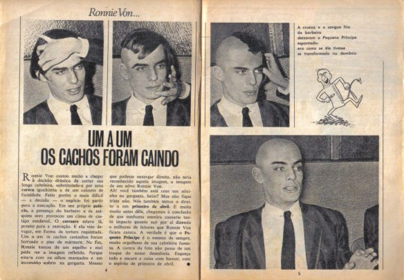 Revista - Ronnie Von careca