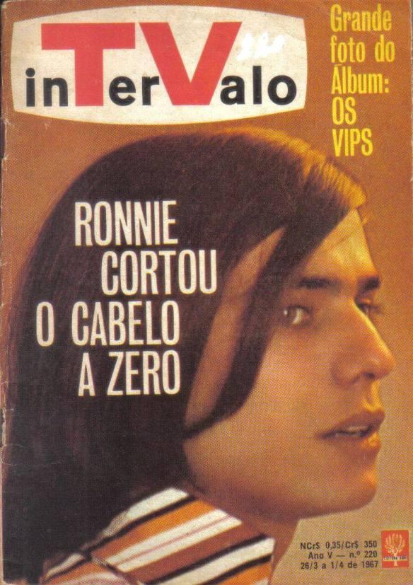 Revista - Ronnie Von cortou os cabelos