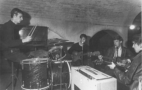Ringo na banda - 22 Agosto 1962 - The Beatles no The Cavern Club