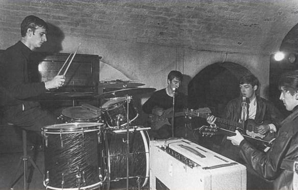 primeira apresentação de Ringo com os Beatles – fotos de Dezo Hoffmann